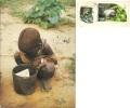 UGANDA  Boy Karimojong  Nice Stamps  Animal Theme - Uganda