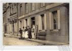 TOUQUES - HOTEL DE LA MARINE ET BOUCHERIE GODET - SUPERBE CARTE PHOTO - France