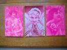 3 Cartes Sihouettes Ou Portraits De Femmes - Silhouettes