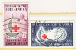 SOUTH  AFRICA   285-6   (o)    RED CROSS - South Africa (1961-...)