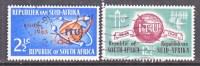 SOUTH  AFRICA   306-7   (o)    ITU - South Africa (1961-...)