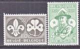 BELGIUM   509-10      *    SCOUTING - Belgium
