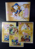 Thailand Personalized Stamp 2014 Disney Princess - Beauty And The Beast Vol 5 - Thailand