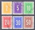 ISRAEL    J 6-11   (o) - Portomarken