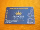 F.Y.R.O.M. - Gevgelija Princess Casino magnetic slot player�s card