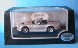 FORD SHELBY SERIES 1 ARGENTE MAXICAR 1/43 SILVER SILBER LEFT HAND DRIVE LHD