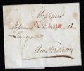 A3422) Belgien Brief Von ANVERS 1802 Nach Amsterdam - 1794-1814 (Französische Besatzung)