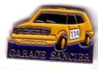 VW VAG   GARAGE SANCIER   GOLF JAUNE No 114  à  GAMACHES ( Dpt 80 ) - Volkswagen