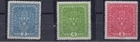 Austria1917:Michel204 I-206I mh*