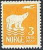 NOORWEGEN 1925 3õre Oranjegeel IJsbeer Met Vliegtuig PF-MNH-NEUF - Unused Stamps