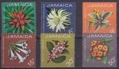 Jamaica 1973 Flowers 6v ** Mnh (18311) - Jamaica (1962-...)