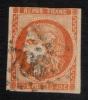 France (o) Ceres De Bordeaux N°48 1er état Cote 290 Orange Vif, - 1870 Bordeaux Printing