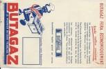 Papillon Publicitaire/ Butagaz Fera économiquement Toute Votre Cuisine/Le Premier Butane Français/Vers 1960   GEF58 - Electricity & Gas