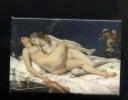 Magnet Métallique Art Peinture Courbet  Le Sommeil Les Deux Amies  Paresse Et Luxure Musée Petit Palais - Magnets