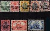 ALLEMAGNE - LEVANT - 8 Valeurs De 1905/13 Oblitéré TB - Officina: Turquia