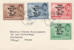 Accra Ghana 1958 - Prime Minister's Visit USA & Canada -  Lettre Brief Cover - Ghana (1957-...)