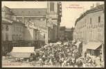 LUNEVILLE Rare La Place Saint Jacques (Bastien) Meurthe & Moselle (54) - Luneville