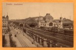 Dresden Hauptbahnhof 1905 Postcard - Dresden