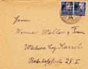 """Brief 1949 von """"(3a) SCHWERIN (MECKL) 1 / VERSICHERUNGSSCHUTZ durch die SACH- UND PERSONEN VERSICHERUNGS ANSTALT MECK..."""