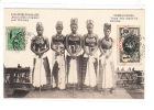 GUINEE - Jeunes Filles Costumées Pour L'excision - Très Bon état (étiquette Collée Au Dos) - Guinea