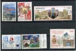 MONACO Année 1998 - 7 Timbres Oblitérés TB N° 2152 2153 2157 2159 2172 2177 2190 - Used Stamps