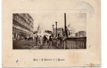 - ALGERIE - CPA écrite ALGER - Le Boulevard Et La Mosquée (belle Animation) - Photo J. Geiser - - Algerien