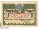 Notgeld 50 Pfennig Bordesholm - Allemagne / Germany 1921 - [11] Local Banknote Issues