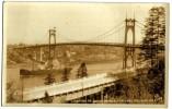 Photo Card Portland St Johns Bridge Linnton - Portland