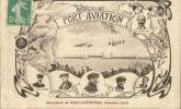 Aviation - Meeting - Carte Souvenir De Port Aviation (91 Juvissy) écrite Du 13 10 1909 - Riunioni