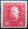 AUSTRIA 1915 15h Franz Josef MLH