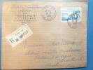 RECOMMANDE De 1958 Paris Pour Toulon N° 1131 Seul Lettre Entete Agence Comptable Des Timbres Outre-mer - Marcophilie (Lettres)