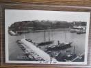 MONACO CARTE PHOTO 1930 INTERIEUR DU PORT - Harbor