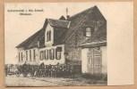 OFFENHEIM. - Gastwirschaft V. Hch. Schnell, - écrite 1919 - ATTELAGE - Soldats Allemands -  Vélo - Bien Animée - Alzey