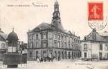 CPA 10 ROMILLY SUR SEINE L'HOTEL DE VILLE (cliché Pas Courant Avec Le Kiosque - Romilly-sur-Seine