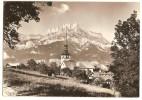 Cordon (74) L´eglise Et Les Aiguilles De Warens (2scann - Francia