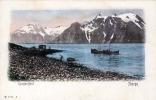 NORGE - LYNGENFJORD, Karte Um 1900 - Norwegen