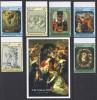 PINTURA/RUBENS - ANTIGUA 1999 - Yvert #2619/24+H439 - MNH ** - Rubens
