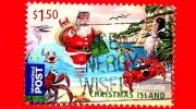 Christmas Island - AUSTRALIA - Usato - 2011 - Natale - Christmas - Babbo Natale - Santa Claus  - $ 1.50 - Christmas Island