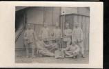 Cpa Photo -  Mitrailleuse Et Groupe De Soldats , N°77 Sur Les Cols    Hae07 - Equipment