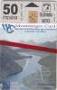 MONTENEGRO - Lake Skadar, Boka Kotorska, First Issue 50 Unts, CN : 5003, Tirage 10000, 03/00, Mint - Montenegro