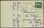 FRANCE BORDEAUX 10 IV 1924 - OLYMPIC GAMES PARIS 1924 - MAILED POSTCARD: RUINES DU PALAIS GALLIEN - Estate 1924: Paris