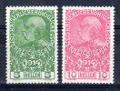AUTRICHE / AUSTRIA...1914...YT n� 136-137** /mnh