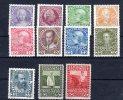 AUTRICHE / AUSTRIA...1908-13...YT n� 102-13**/mnh