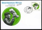 35789) BRD - Ganzsache Michel USo ? - OO Gestempelt - EVST Vom 1.10.2015 - 62C  Helmut Schön - Briefmarkenmesse Berlin - Covers - Used