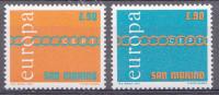 Saint-Marin 1971  Mi.nr.: 975-976  Europe   MNH / POSTFRIS / NEUF SANS CHARNIERE - Neufs