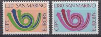 Saint-Marin 1973  Mi.nr.: 1029-1030  Europe   MNH / POSTFRIS / NEUF SANS CHARNIERE - Neufs