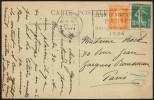 FRANCE PARIS GARE SAINT LAZARE 25 IV 1924 - OLYMPIC GAMES PARIS 1924 - MAILED POSTCARD: MAISONS-LAFFITTE - Estate 1924: Paris