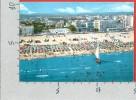 CARTOLINA NV ITALIA - RIMINI - Riviera Adriatica - Spiaggia Ed Alberghi - 10 X 15 - Rimini