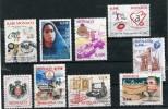 MONACO Années 2006/07/08 - 9 Timbres Oblitérés TB N° 2521 2535 2552 2565 2570 2577 2601 2608 - Used Stamps