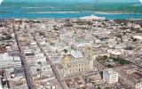 Mexico Sinaloa Air View Of Center Of The Port Of Mazatlan